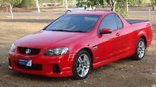 2010 Holden Ute VE MY10 SV6 Red 6 Speed Manual Utility The Narrows Darwin City Preview