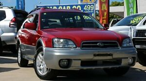2003 Subaru Outback B3A MY03 AWD Red 4 Speed Automatic Wagon Greenslopes Brisbane South West Preview