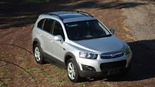 2012 Holden Captiva CG Series II Silver 6 Speed Sports Automatic Wagon The Narrows Darwin City Preview