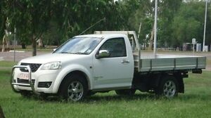 2011 Great Wall V200 K2 MY12 White 6 Speed Manual Cab Chassis Winnellie Darwin City Preview