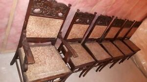 Antique dining chairs set of 6 Cornwall Ontario image 7