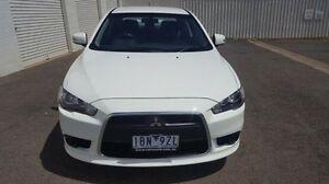 2015 Mitsubishi Lancer CJ MY15 ES Sport White 6 Speed Constant Variable Sedan Wodonga Wodonga Area Preview