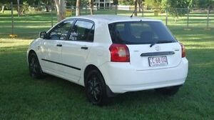 2003 Toyota Corolla ZZE122R Ascent White 4 Speed Automatic Hatchback Winnellie Darwin City Preview