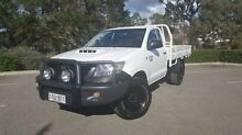 2012 Toyota Hilux  White Manual Cab Chassis Littlehampton Mount Barker Area Preview