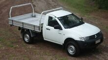 2012 Mitsubishi Triton MN MY12 GL White 5 Speed Manual Cab Chassis The Narrows Darwin City Preview