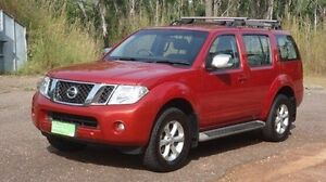 2011 Nissan Pathfinder R51 MY10 ST-L Red 5 Speed Sports Automatic Wagon Winnellie Darwin City Preview