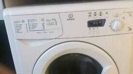 Indesit 7kg washing machine used in good condition