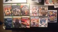PS4,PS3,XBOX360,WII games for sale.