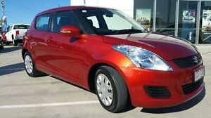 2013 Suzuki Swift FZ MY13 GL Red 5 Speed Manual Hatchback Maryborough Fraser Coast Preview