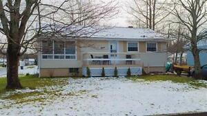 3 Bedroom Home just minutes from downtown and St Fx