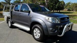 2009 Toyota Hilux GGN25R MY09 SR5 Grey 5 Speed Automatic Utility Kedron Brisbane North East Preview