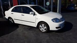 2006 Toyota Corolla ZZE122R MY06 Upgrade Ascent White 4 Speed Automatic Sedan Taylors Beach Port Stephens Area Preview