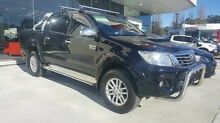 2014 Toyota Hilux KUN26R MY14 SR5 Double Cab Grey 5 Speed Automatic Utility Pennant Hills Hornsby Area Preview