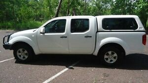 2012 Nissan Navara D40 S6 MY12 RX White 5 Speed Automatic Utility Winnellie Darwin City Preview