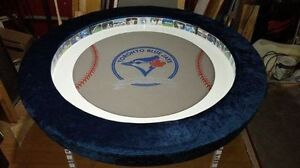 "Blue Jays 60"" Round Poker Table With Dining Topper"