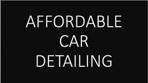 CAR DETAILING - INTERIOR AND EXTERIOR