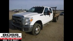 2012 Ford Super Duty F-350 4x4 DRW XLT Flat Deck!! New Tires!!
