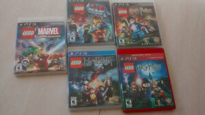 Jeux LEGO de PS3