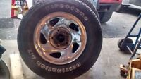 245/70/16 dodge ram rims and tires for sale
