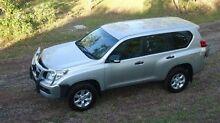 2010 Toyota Landcruiser Prado KDJ150R GX Silver 5 Speed Sports Automatic Wagon The Narrows Darwin City Preview