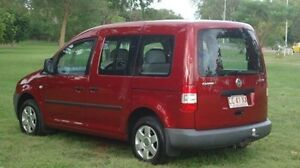 2006 Volkswagen Caddy 2K Wagon Life SWB Red 5 Speed Manual Wagon Winnellie Darwin City Preview