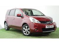 NISSAN NOTE 1.4 N-TEC + SAT NAV + ONE OWNER FROM NEW +FULL SERVICE HISTORY
