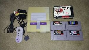 Super Nintendo and Games