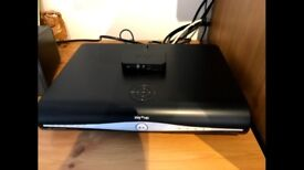 Sky+HD set top box; includes remote, wireless router, cables