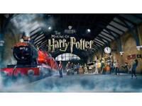 SATURDAY Harry Potter Studio Tour Tickets 17th March