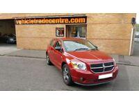 DODGE CALIBER 1.8 SXT 5d 148 BHP (red) 2008