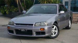 1999 Nissan Skyline R34 25GT Grey 4 Speed Automatic Sedan Mentone Kingston Area Preview