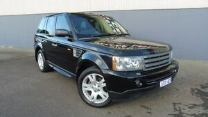 2006 Land Rover Range Rover Sport Black Sports Automatic Wagon Morwell Latrobe Valley Preview