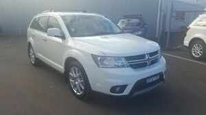 2012 Dodge Journey JC MY12 R/T White 6 Speed Automatic Wagon Dubbo Dubbo Area Preview