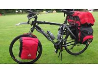 Specialized Hardrock bicycle (black) with many extras!
