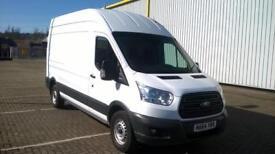 Ford Transit 350 L3 H3 VAN 125PS EURO 5 DIESEL MANUAL WHITE (2014)