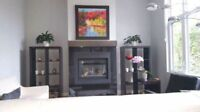 Natural Gas Fireplaces - Sales, Service and Installations