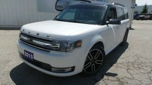 2015 Ford Flex SEL | AWD | Lthr | Moon | Navi