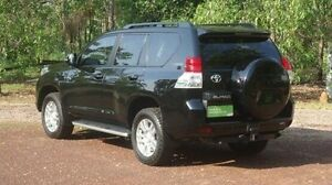 2009 Toyota Landcruiser Prado KDJ150R Kakadu Black 5 Speed Sports Automatic Wagon Winnellie Darwin City Preview