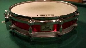 Snare 14 x 3.5 Pearl Brass Free Floater   280$