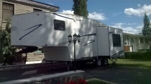 Trail Cruiser 5th Fifth Wheel, RV, Short Bed truck series,Camper