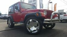 2006 Jeep Wrangler TJ MY2006 Sport Red 6 Speed Manual Softtop Doveton Casey Area Preview