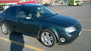 Volkswagen Jetta (2003) Sedan 1.8T, Fully Loaded + Touch Screen