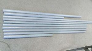 "Leftover 6"" System XFR Pipes,and PVC for sale"