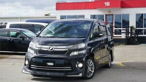 2012 Toyota Vellfire ANH20W Black Constant Variable Wagon Mentone Kingston Area Preview