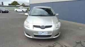 2007 Toyota Corolla Silver Automatic Hatchback Morwell Latrobe Valley Preview