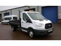 Ford Transit 2.2 Tdci 125Ps S/C Tipper DIESEL MANUAL WHITE (2014)