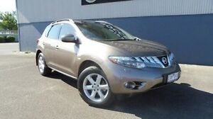 2010 Nissan Murano Z51 Series 2 MY10 TI Brown 6 Speed Constant Variable Wagon Morwell Latrobe Valley Preview