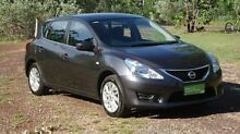2014 Nissan Pulsar C12 ST Grey 1 Speed Constant Variable Hatchback The Narrows Darwin City Preview