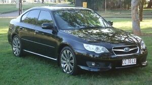 2008 Subaru Liberty B4 MY08 3.0R AWD Spec.B Black 6 Speed Manual Sedan Winnellie Darwin City Preview