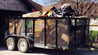 Affordable JUNK REMOVAL services / yard cleanup (587) 418-0560